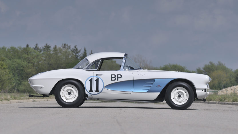 1961 Chevrolet Corvette Gulf Race Car Back to Back SCCA B-Prod National Champion presented as lot S156 at Monterey, CA 2013 - image11