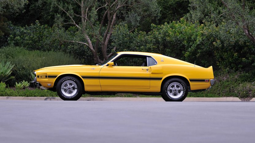 1969 Shelby GT500 Fastback Formerly Owned by Carroll Shelby presented as lot S157 at Monterey, CA 2013 - image2