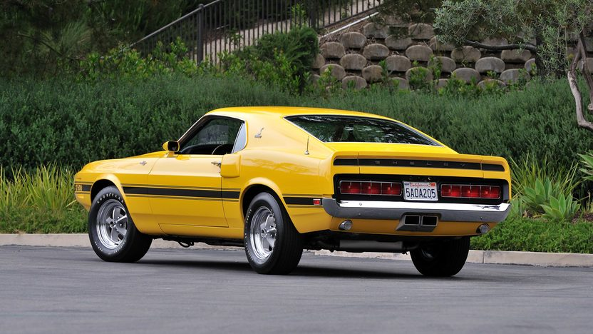 1969 Shelby GT500 Fastback Formerly Owned by Carroll Shelby presented as lot S157 at Monterey, CA 2013 - image3
