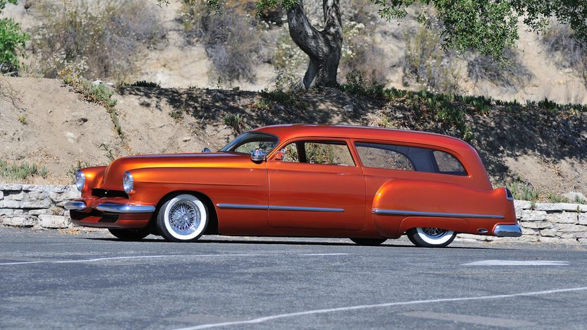 1949 Cadillac Phantom Wagon 2013 GNRS First Place in Class presented as lot S159 at Monterey, CA 2013 - image2