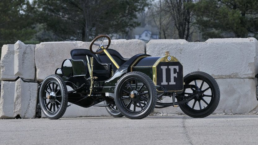 1908 Isotta Fraschini Tipo FENC Two Seater 1 of 2 Tipo FENC Examples Known to Exist presented as lot S165 at Monterey, CA 2013 - image12