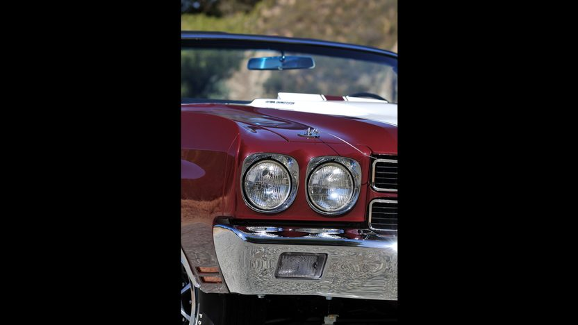 1970 Chevrolet Chevelle Convertible 454/450 HP, 4-Speed presented as lot S170 at Monterey, CA 2013 - image10