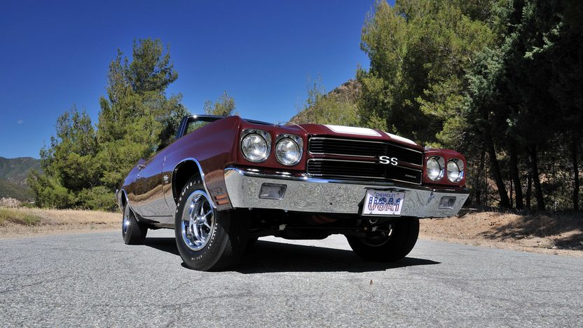 1970 Chevrolet Chevelle Convertible 454/450 HP, 4-Speed presented as lot S170 at Monterey, CA 2013 - image11