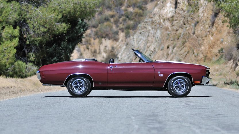 1970 Chevrolet Chevelle Convertible 454/450 HP, 4-Speed presented as lot S170 at Monterey, CA 2013 - image2