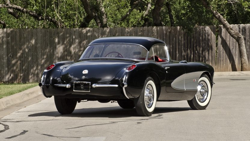 1957 Chevrolet Corvette Convertible 283 CI, 4-Speed presented as lot S175 at Monterey, CA 2013 - image2