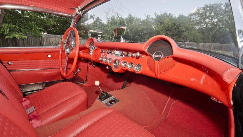 1957 Chevrolet Corvette Convertible 283 CI, 4-Speed presented as lot S175 at Monterey, CA 2013 - image3