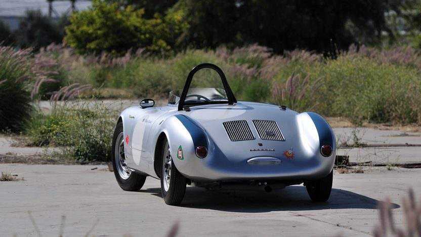 1955 Porsche 550/1500 RS Spyder Chassis No. 550-0077 presented as lot S134 at Monterey, CA 2013 - image11