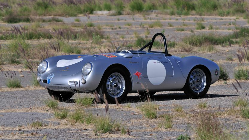 1955 Porsche 550/1500 RS Spyder Chassis No. 550-0077 presented as lot S134 at Monterey, CA 2013 - image12
