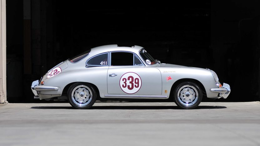 1963 Porsche 356B Carrera 2 Coupe Matching Numbers 4-Cam Engine, Rare Sunroof presented as lot S137 at Monterey, CA 2013 - image2