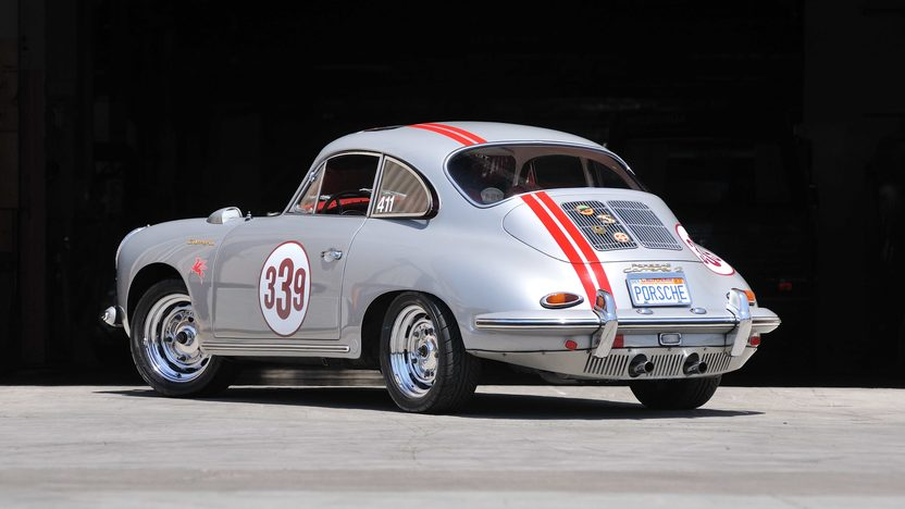 1963 Porsche 356B Carrera 2 Coupe Matching Numbers 4-Cam Engine, Rare Sunroof presented as lot S137 at Monterey, CA 2013 - image3