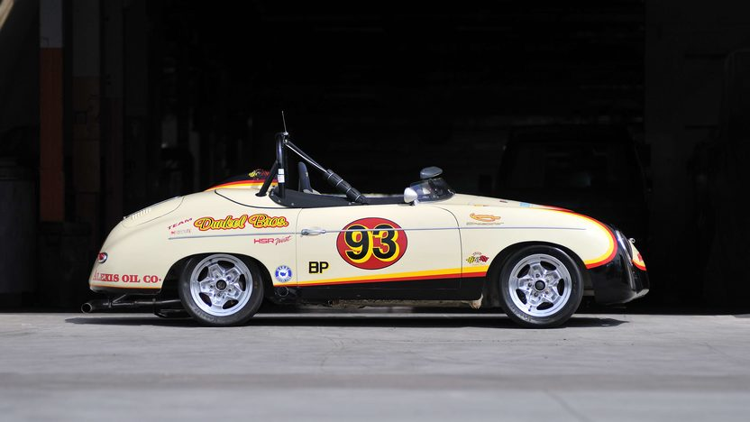 1958 Porsche 356A Speedster Race Car Chassis No. 84333 presented as lot S146.1 at Monterey, CA 2013 - image2
