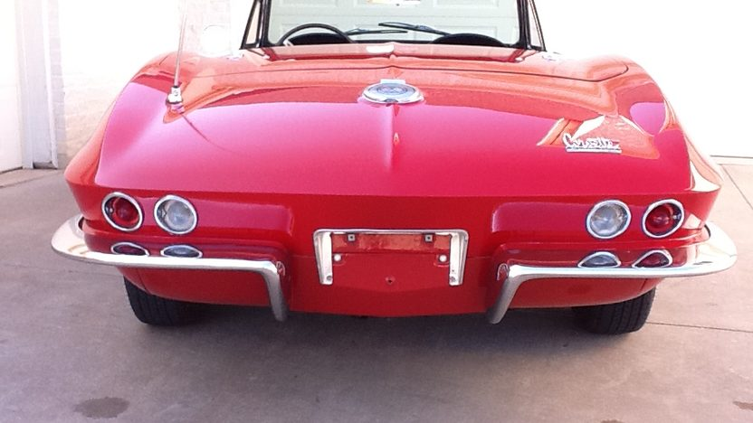 1966 Chevrolet Corvette Convertible 327 CI, 4-Speed presented as lot F51 at Monterey, CA 2013 - image3