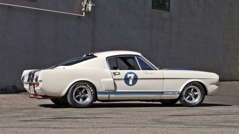 1966 Shelby GT350 Race Car Formerly Owned and Raced by Sir Stirling Moss presented as lot S161 at Monterey, CA 2013 - image12