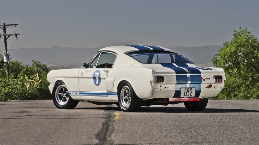 1966 Shelby GT350 Race Car Formerly Owned and Raced by Sir Stirling Moss presented as lot S161 at Monterey, CA 2013 - image2