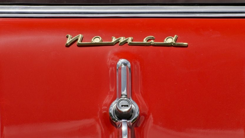 1955 Chevrolet Nomad Wagon 265 CI, Automatic presented as lot F146 at Monterey, CA 2013 - image10