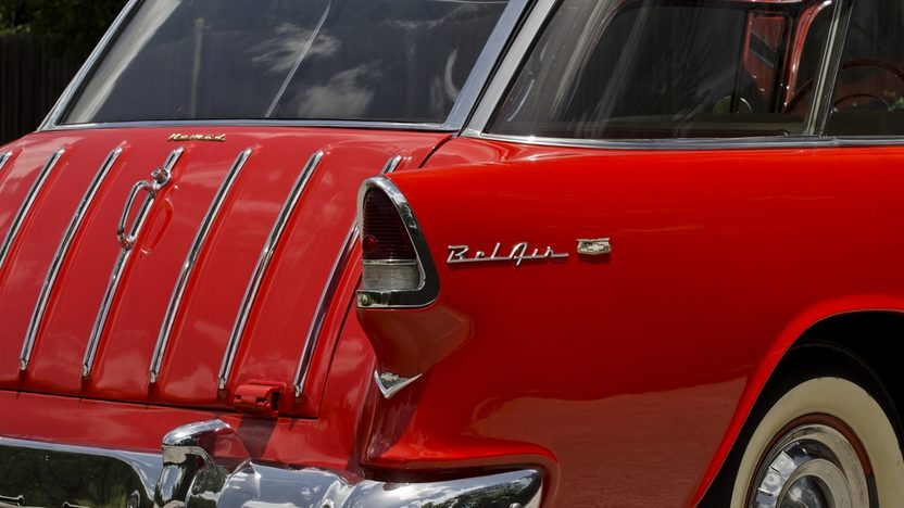1955 Chevrolet Nomad Wagon 265 CI, Automatic presented as lot F146 at Monterey, CA 2013 - image11