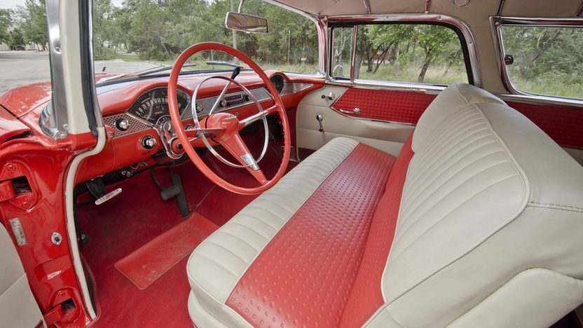 1955 Chevrolet Nomad Wagon 265 CI, Automatic presented as lot F146 at Monterey, CA 2013 - image3