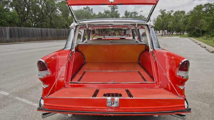 1955 Chevrolet Nomad Wagon 265 CI, Automatic presented as lot F146 at Monterey, CA 2013 - image6