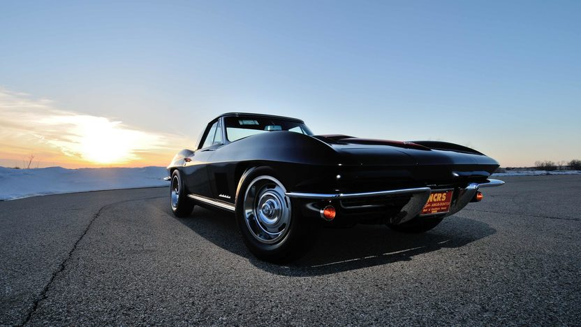 1967 Chevrolet Corvette Convertible 427/435 HP, Original Drivetrain, Triple Crown presented as lot S182 at Monterey, CA 2013 - image12