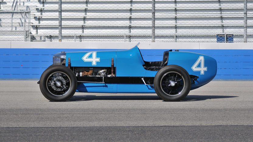 1932 Hupp Comet No. 4 Indy Car 5th Place Finish at the 1932 Indianapolis 500 presented as lot S148.1 at Monterey, CA 2013 - image2