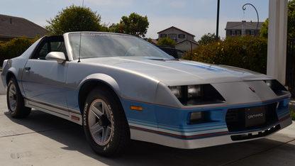 1982 Chevrolet Camaro Pace Car Edition