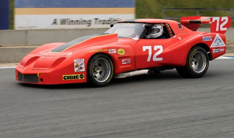 1974 Chevrolet Corvette IMSA Race Car 358/615 HP, Greenwood Body presented as lot F80 at Monterey, CA 2014 - image3