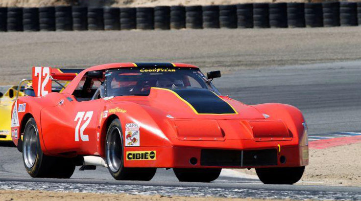1974 Chevrolet Corvette IMSA Race Car 358/615 HP, Greenwood Body presented as lot F80 at Monterey, CA 2014 - image4