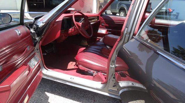 1975 Pontiac Grand Safari Wagon Formerly Owned by John Wayne presented as lot S79 at Monterey, CA 2014 - image4
