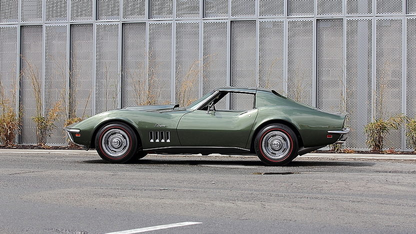 1969 Chevrolet Corvette L88 Coupe 427/430 HP, 4-Speed, Tank Sticker presented as lot F154 at Monterey, CA 2014 - image2