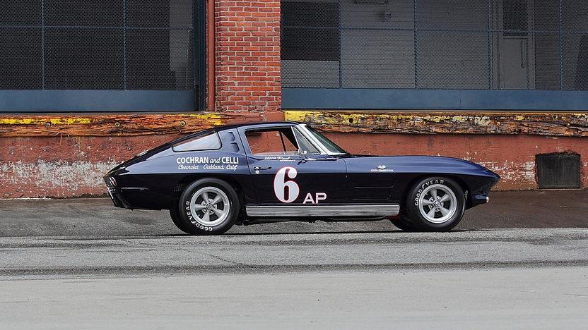1963 Chevrolet Corvette Z06 Tanker Race Car The Paul Reinhart Z06 presented as lot S158 at Monterey, CA 2014 - image2