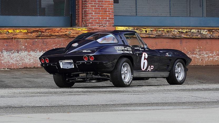 1963 Chevrolet Corvette Z06 Tanker Race Car The Paul Reinhart Z06 presented as lot S158 at Monterey, CA 2014 - image3