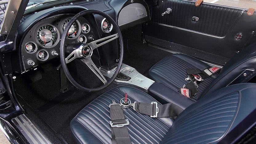 1963 Chevrolet Corvette Z06 Tanker Race Car The Paul Reinhart Z06 presented as lot S158 at Monterey, CA 2014 - image4