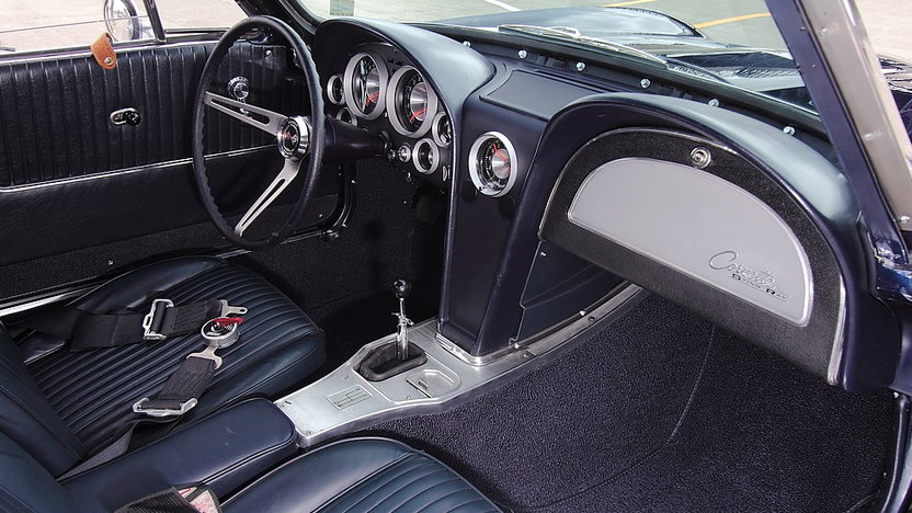1963 Chevrolet Corvette Z06 Tanker Race Car The Paul Reinhart Z06 presented as lot S158 at Monterey, CA 2014 - image5