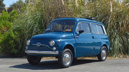 1966 Fiat 500D Giardiniera Wagon