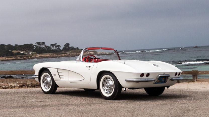1961 Chevrolet Corvette Convertible Unrestored One Family