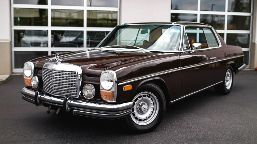 1972 mercedes benz 250c 2 8l automatic mecum auctions for Mercedes benz 250c