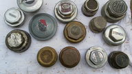 Radiator Caps  presented as lot Z525 at St. Charles, IL 2011 - thumbail image2