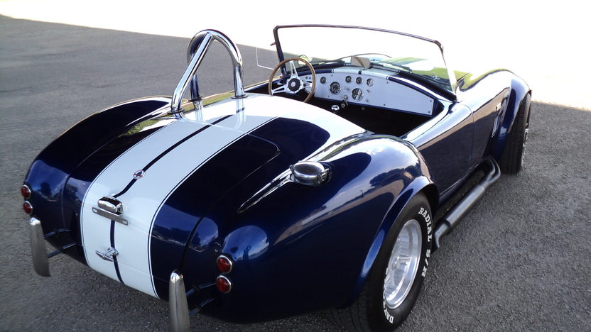 1966 Shelby Cobra Replica 428 CI, Automatic presented as lot T29 at St. Charles, IL 2011 - image2
