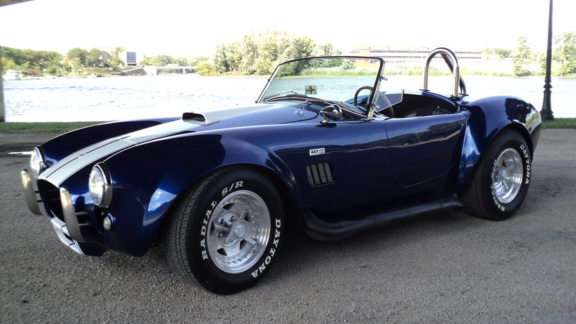 1966 Shelby Cobra Replica 428 CI, Automatic presented as lot T29 at St. Charles, IL 2011 - image5