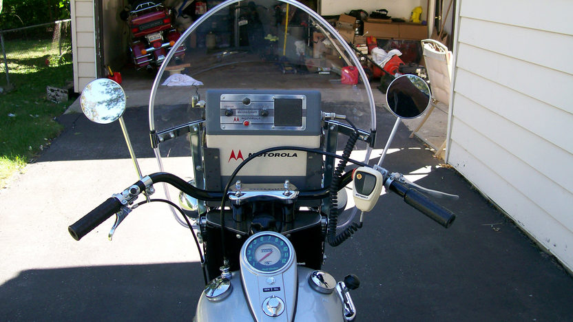 1958 Harley-Davidson G-Police Servi Car 750CC, 3-Speed presented as lot T44 at St. Charles, IL 2011 - image7