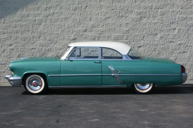 1953 Lincoln Capri Coupe 318/205 HP, Automatic presented as lot T74 at St. Charles, IL 2011 - image2