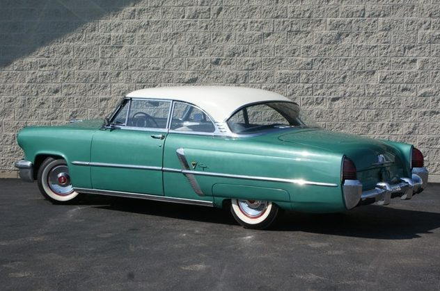1953 Lincoln Capri Coupe 318/205 HP, Automatic presented as lot T74 at St. Charles, IL 2011 - image3