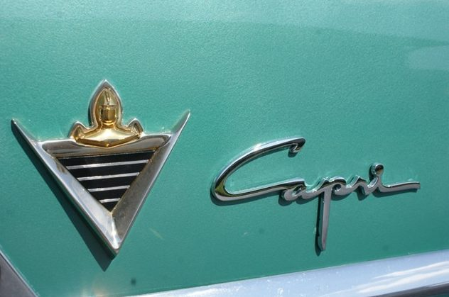 1953 Lincoln Capri Coupe 318/205 HP, Automatic presented as lot T74 at St. Charles, IL 2011 - image4
