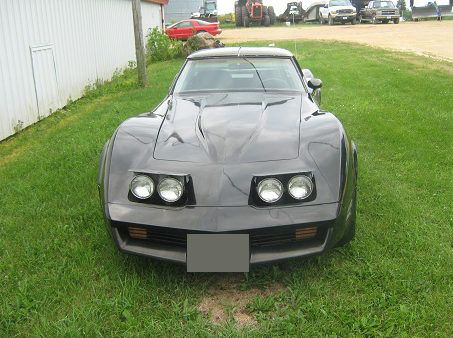 1981 Chevrolet Corvette 350 CI, Automatic presented as lot T102 at St. Charles, IL 2011 - image2