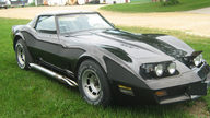 1981 Chevrolet Corvette 350 CI, Automatic presented as lot T102 at St. Charles, IL 2011 - thumbail image8