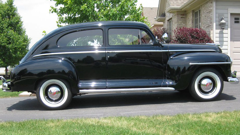 1947 Plymouth P15 Deluxe Coupe presented as lot T122 at St. Charles, IL 2011 - image2