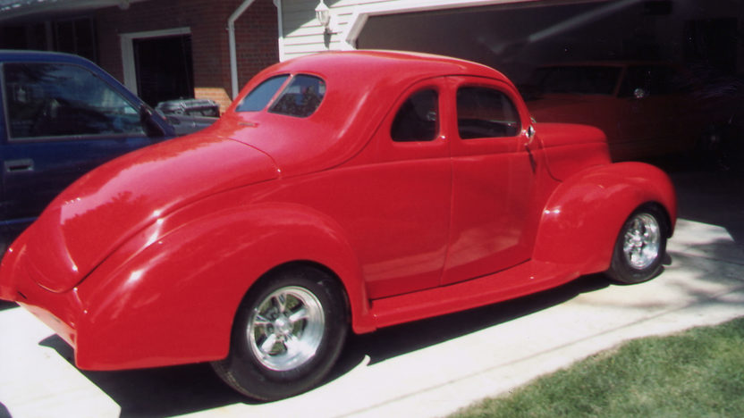 1940 Ford  Coupe 383 CI presented as lot T130 at St. Charles, IL 2011 - image2