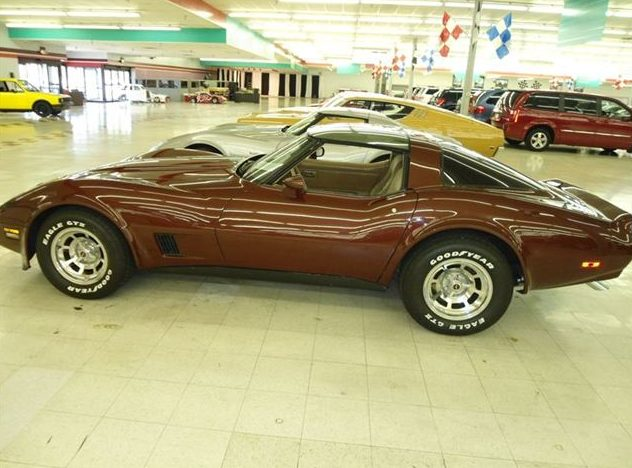 1981 Chevrolet Corvette Coupe 350 CI, Automatic presented as lot T138 at St. Charles, IL 2011 - image3