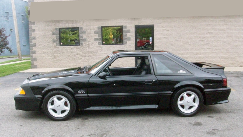1993 Ford Mustang Steeda 302 CI, Automatic presented as lot T149 at St. Charles, IL 2011 - image2