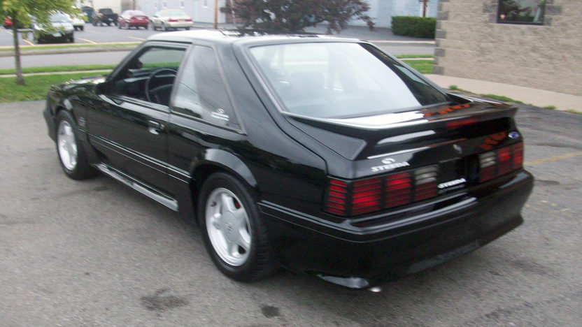1993 Ford Mustang Steeda 302 CI, Automatic presented as lot T149 at St. Charles, IL 2011 - image3